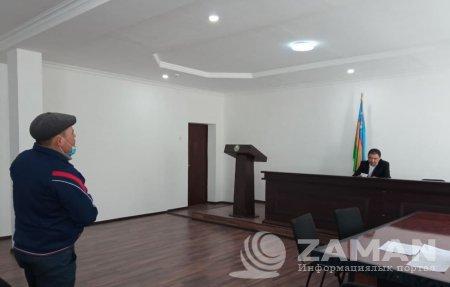 Qaraqalpaqstan Respublikası Transport ministrliginiń imaratında bolıp ótken sudta 40  puqaraǵa tiyisli sharalar kórildi